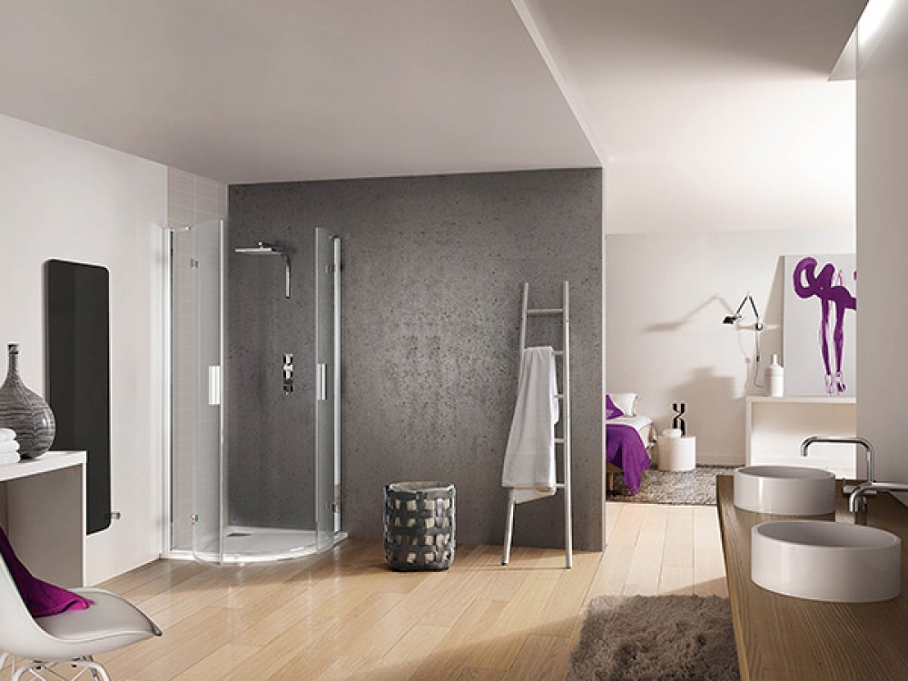 remplacement d 39 une baignoire par une douche bill re lons 64. Black Bedroom Furniture Sets. Home Design Ideas